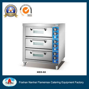 Electric Oven (3-deck 6-tray) (HEO-60) pictures & photos