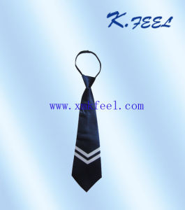 Children′s Zipper Tie with School Logo