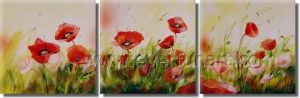 100% Handmade Contemporary Flower Oil Painting (FL3-215) pictures & photos