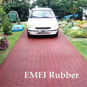 Waterproof Rubber Flooring for Parking Space pictures & photos