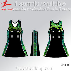 Healong Free Sample Dye Sublimated Netball Skirts pictures & photos
