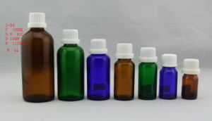 Colorful Glass Bottle for Oil