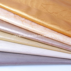 Lightning Pattern PU Leather for Decoration pictures & photos