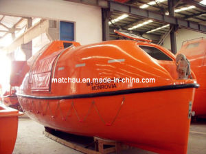 Partially Enclosed Tender Lifeboat Manufacturer pictures & photos