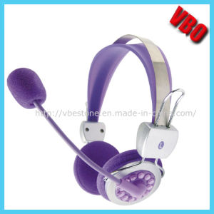OEM Children Headphone with Crystals (VB-9504M) pictures & photos