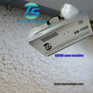 Distance 7m 1500W Even Stage Party Snow Machine (remote or wire control)