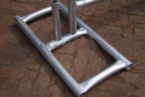 Portable Temporary Construction Fence 8′x12′ 35mm Tubing Hot Dipped Galvanized 28 Micons HDG pictures & photos