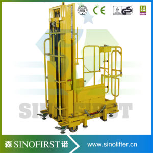 Electric Hydraulic Order Picker Platform pictures & photos
