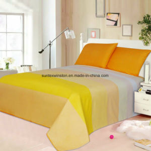 100% Polyester Microfiber Sheet Sets pictures & photos