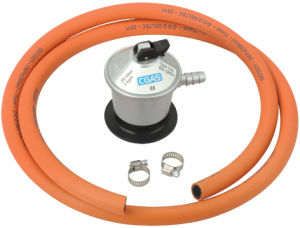 LPG Jumbo Low Pressure Gas Regulator with Hose (C20G56D30) pictures & photos