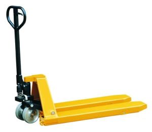 1000kg 35mm Low Put Hand Pallet Truck pictures & photos