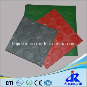 Round Stud Non-Slip Rubber Sheet for Floor pictures & photos