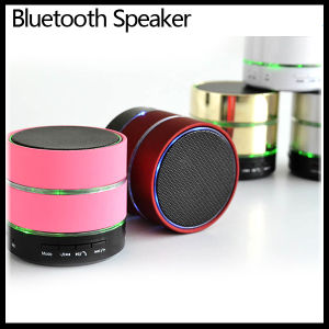 Mini Wireless Bluetooth Speaker Loudspeaker Sound Box with LED Light pictures & photos