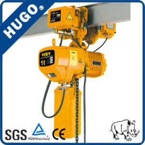 1 Ton Hsy Electric Chain Hoist Crane Electric Winch pictures & photos