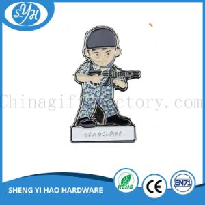 Zinc Alloy Soft Enamel Military Pin Badges pictures & photos