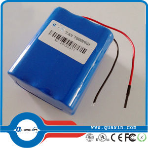 11.1V 2200mAh Li-ion Battery Pack pictures & photos