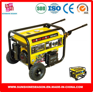 Elepaq Type Gasoline Generators (SC6500E2) for Construction Power Supply pictures & photos