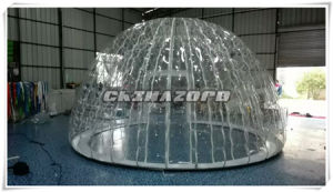 Double Skin Top Craft Clear Inflatable Bubble Tent Good Price pictures & photos