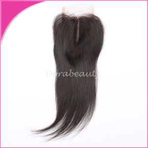 Peruvian Virgin Hair Top Lace Closure pictures & photos