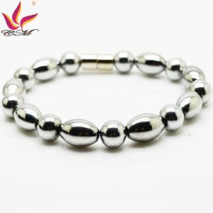 Htb004A Charm Hematite Round Bead Bracelet pictures & photos
