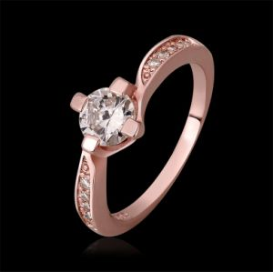 High Quality Gold Plated Fashion Rings Jewelry for Wman Kr590