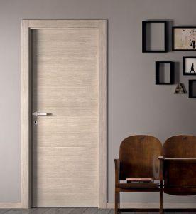 Stable Modern Veneered Wood Door Door for Interior Room pictures & photos
