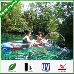 Double Sits Clear PC Kayak Surf Sport Leisure Time Recreational Canoe pictures & photos