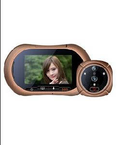 3.7 Inch HD LCD Screen Digit Peephole Door Viewer with Infrared Camera Lt-Sh-2 pictures & photos