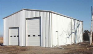 Double Entrance Light Steel Structure Storage House (KXD-122) pictures & photos