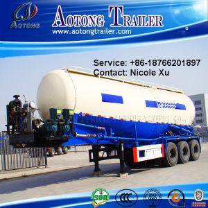 3 Axle 23t Low Density Bulk Cement Tank Semi Truck Trailer (V type) 60m³ (LAT9401GFL) pictures & photos