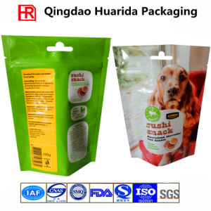 Logo Printed Stand up Plastic Packaging Bag for Pet Food pictures & photos