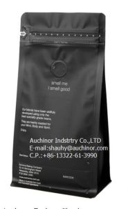 Coffee Bag with Valve and Tin Tie Aliminum Foil Materials pictures & photos