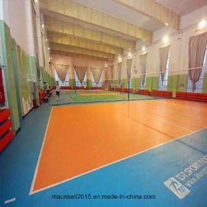 Good Quality Plastic Vinyl Volleyball Sport Flooring pictures & photos