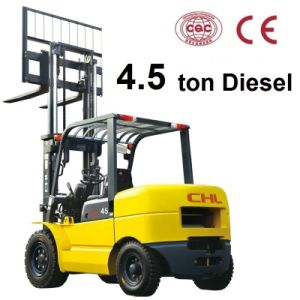 4.5 Ton Diesel Forklift Heli for Mitsubishi Engine (CPCD45) pictures & photos