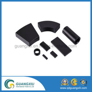 Anisotropic Arc Hard Permanet Sintered Ferrite Magnet pictures & photos