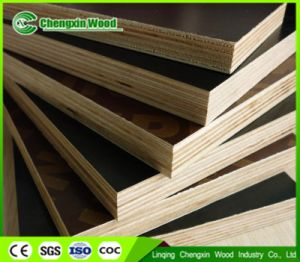 Full Hardwood Melamine Film Faced Plywood for Concrete pictures & photos