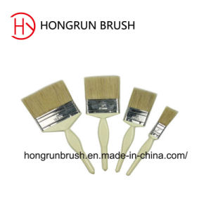 Wooden Handle Paint Brush Hy0601 pictures & photos