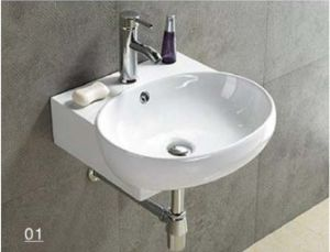 Ceramic Ware Wall Hung-Basin (W7007) pictures & photos
