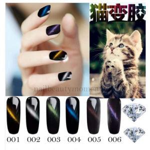 Nail Art Beauty Cat Eye Magnetic Magic Gel Polish (UG28) pictures & photos