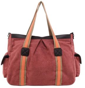 2014 Newest Canvas Beach Bag