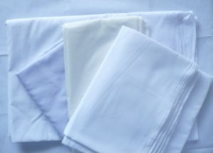 Polyester Cotton Bleach White 90GSM Pocketing Fabric pictures & photos