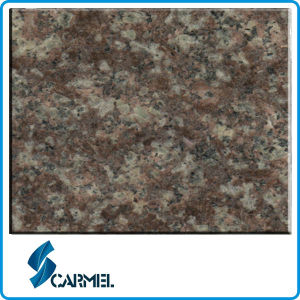 G687 Peach Red Granite Tile for Wall Cladding
