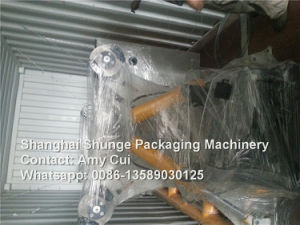 Double Rolls Hydraulic Mill Roll Stand for Grey Board