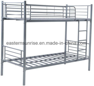High Quality Strong Steel Student Worker Army Dormitory Bunk Bed pictures & photos