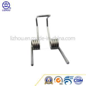 Stainless Steel Precision Hardware Helical Spiral Double Small Torsion Spring pictures & photos