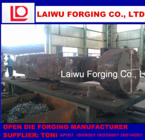 Open Die Forging Forged Crankshaft by Manufacturer pictures & photos