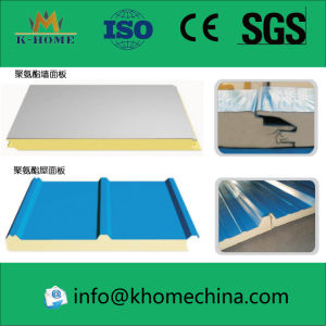 Building Material Insulated Panel Wall Polyurethane Sandwich Panel pictures & photos