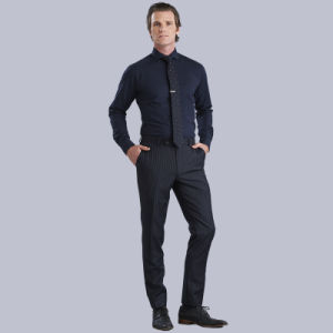 2016 New Style Men′s Shirts Business Men Long Sleeve Shirt Fomal Dress Shirts pictures & photos