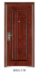 Hotsale Steel Door (WX-S-118) pictures & photos