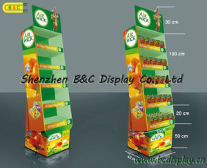 Layer Type Paper Display Shelf / Paper Dump Bin Display Shelf (B&C-A041) pictures & photos